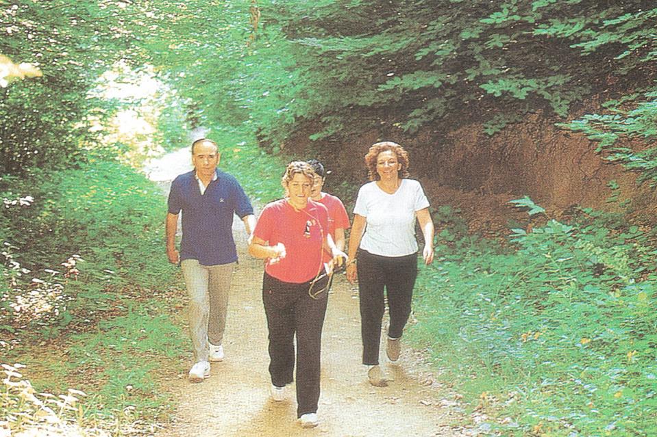 Orman içi yürüyüş 2